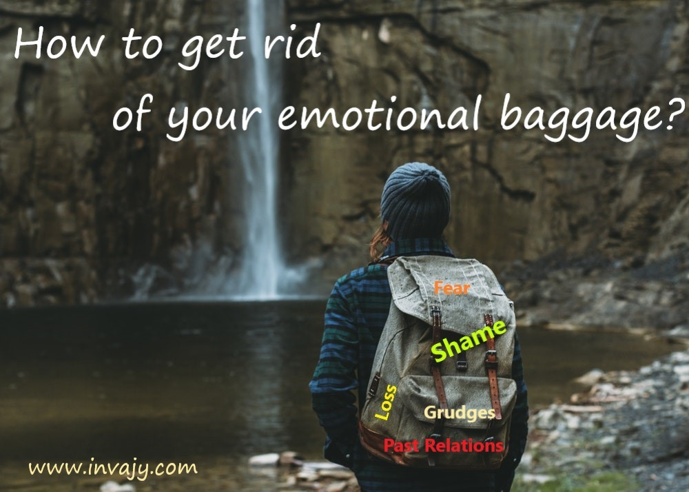 How to get rid of emotional baggage
