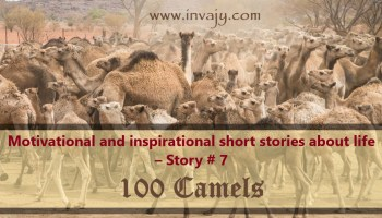 Motivational and inspirational short stories about life