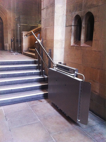 Wheelchair Stair Lift with Platform  Invalifts