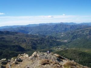 La vista dalla cima del Monte Penna