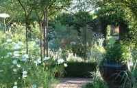 Sissinghurst Castle Gardens - White Garden - 3