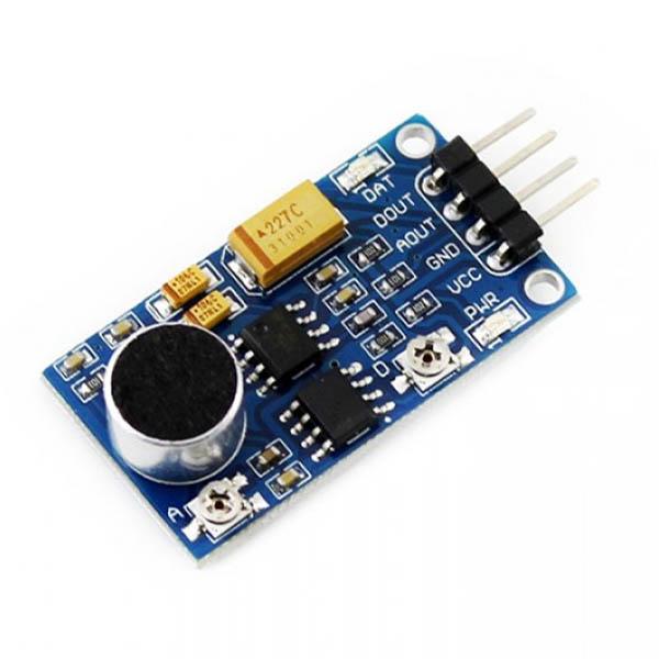 Lm sound sensor module breakout board invent electronics