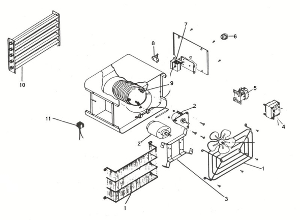 Unit Heaters Parts Online Parts Finder Inventex