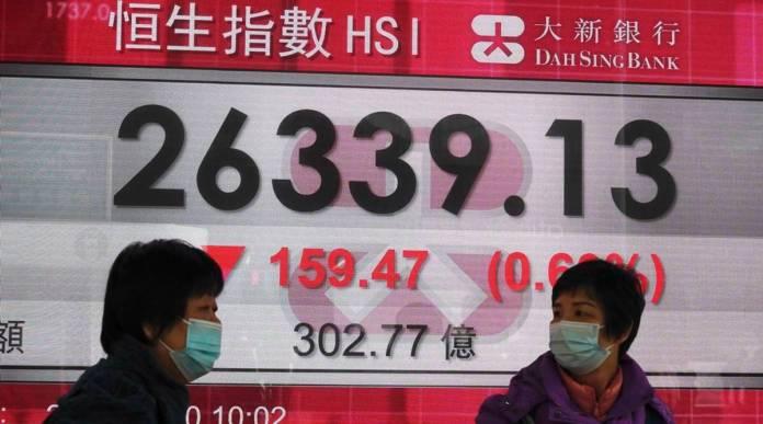 AP asian markets hong kong share index 1200