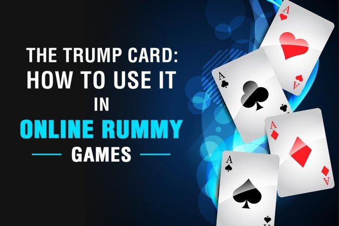 Rummy Trump Card
