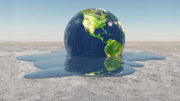 earth melting into water climate change Environment shutterstock 153806906 1