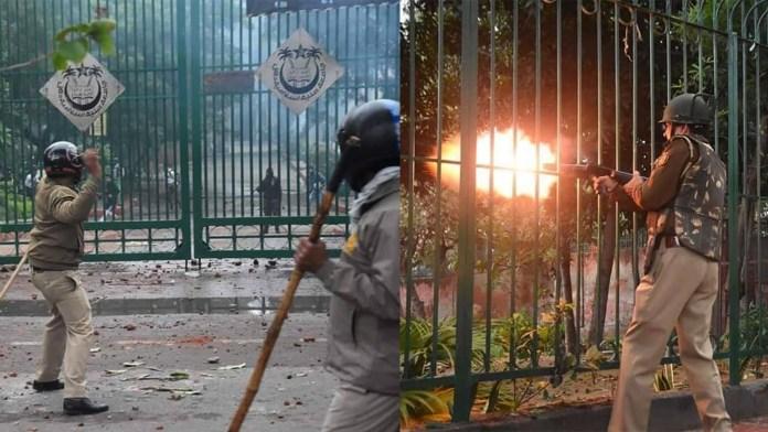 Delhi police brutality and repression 1