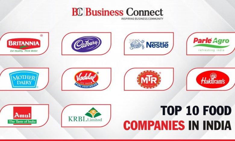 top 10 food companies in india cuisine