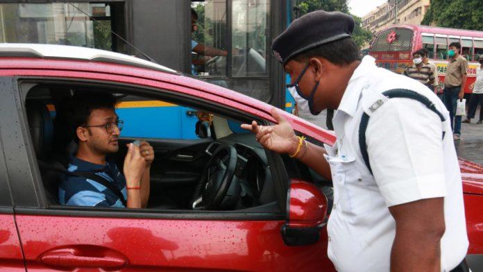 Bengaluru mask driving car fine 1920x1080 1