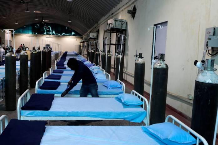Covid Hospital Mumbai AP Photo