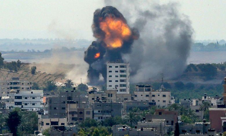 gaza explosion gty jt