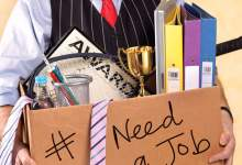 loss of job