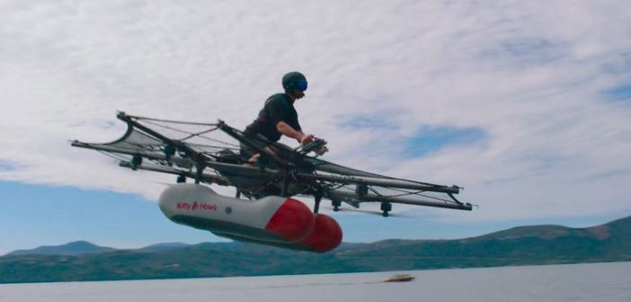 Coches voladores de Google: Kitty Hawk