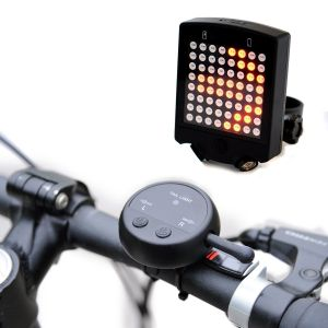 intermitentes para bicicletas panel LED