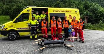 drones profesionales de carga rescate 2017