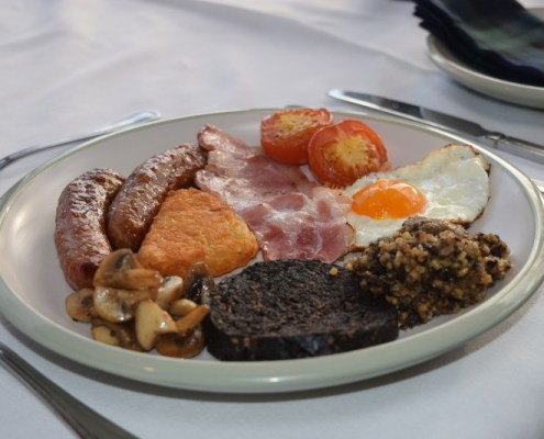 Full Scottish breakfas