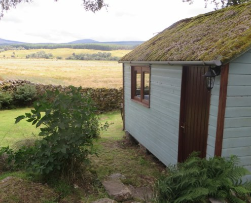 Potting Shed Bothy at Invercassley Cottage