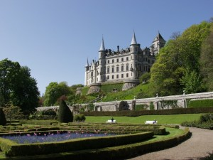 Dunrobin - seat of the Earl of Sutherland