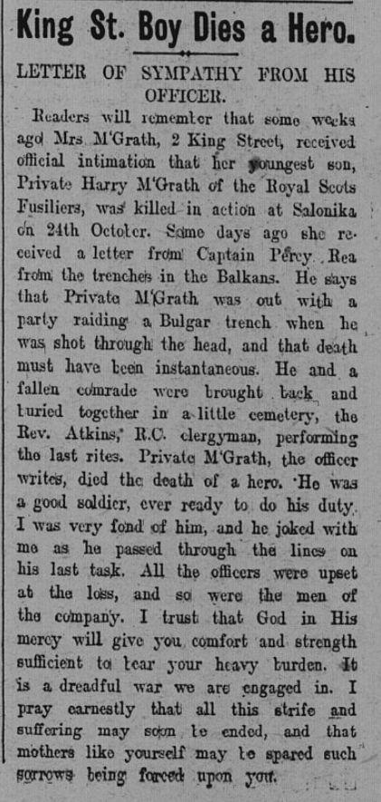 Memorials : Inverclyde's Great War