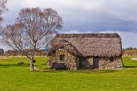 Old Leanach Cottage - Culloden Battlefield (a must for Outlander Fans)
