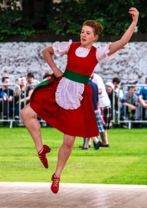 Scottish Highland Dancing at the Highland Games