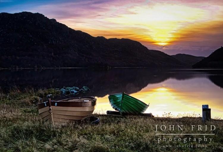 Boats on Loch Ruthven