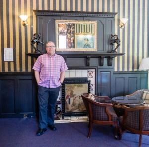 John at Bunchrew House