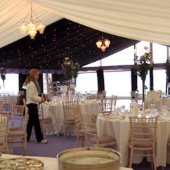 Chair Cover Hire Inverclyde Pier One Rooster Traditional Frame Marquees Scotland Inverhall Marquee Uk