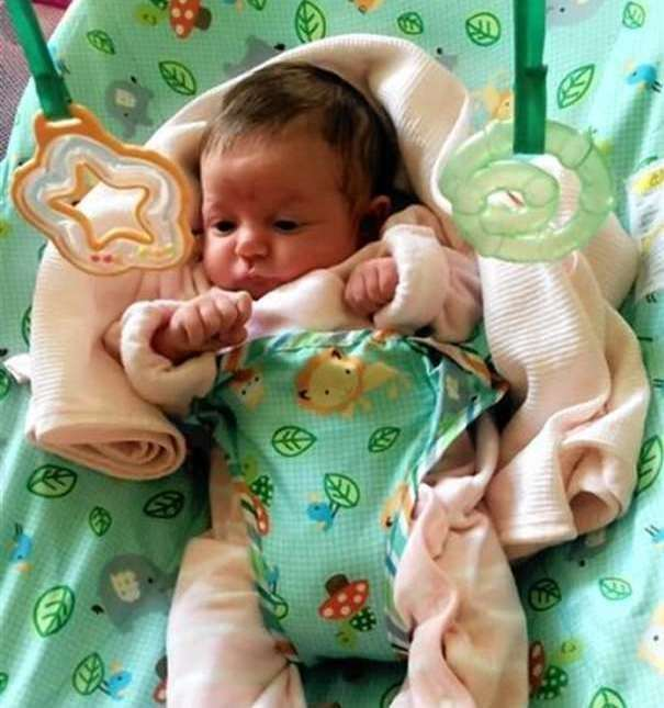 Mikayla Haining was just three weeks old when she was killed by father Thomas Haining.