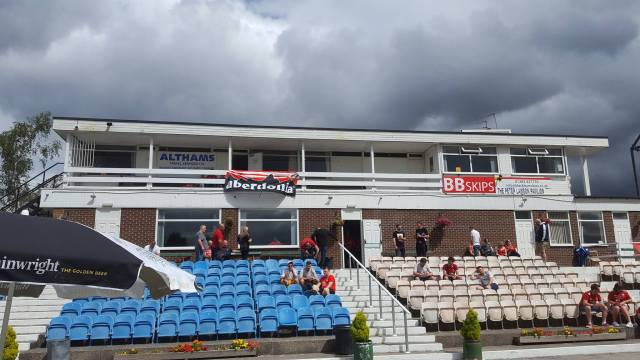 Ally Leslie on Facebook - At Burnley Cricket Club 1833.