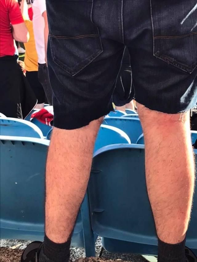 Emma J Robb on Facebook - When u forget ur shorts so u make ur own 😂😂😂😂😂
