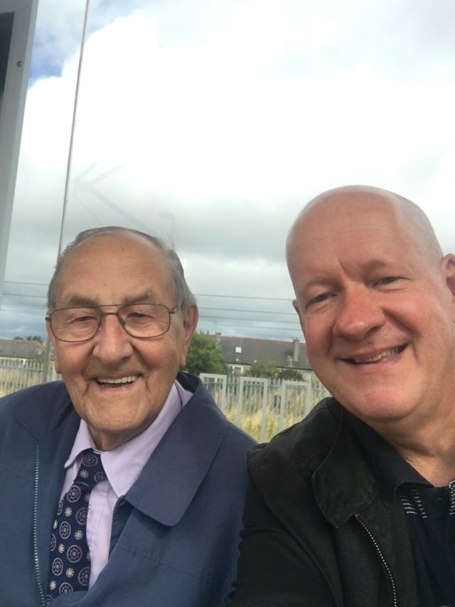 @willie1305 - So the adventure begins. Burnley away in Europe with Dad. Our last European away match was on 11th May 1983 !! 👍 Same again please COYR