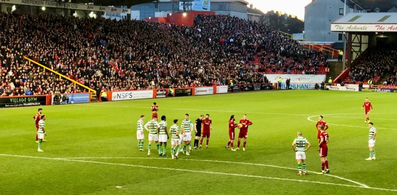Aberdeen v Celtic