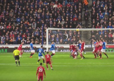 The Rangers 0 v Aberdeen 1