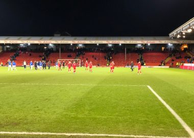Aberdeen v The Rangers