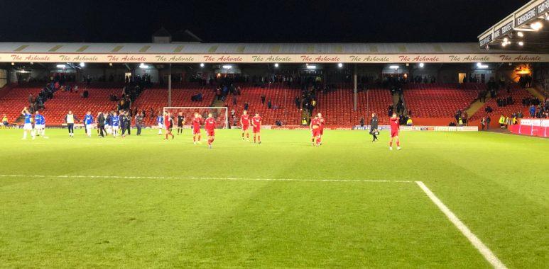 Aberdeen v The Rangers
