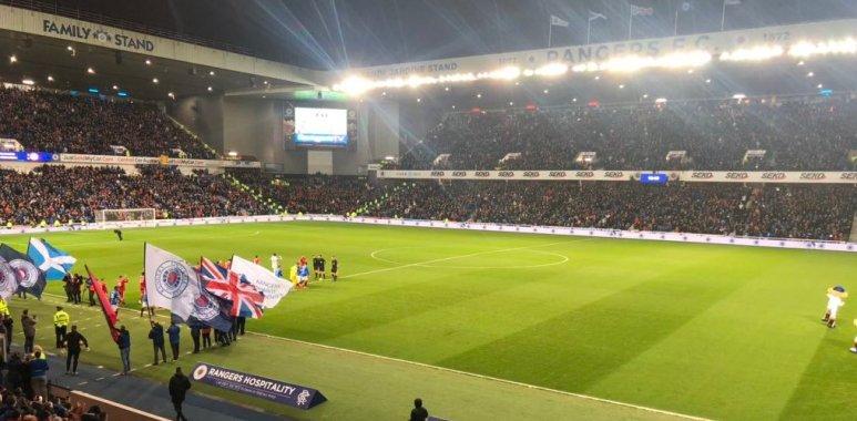 The Rangers v Aberdeen