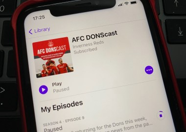 AFC DONscast iPhone