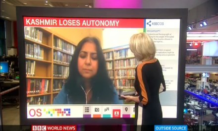 Professor Mona Bhan on Kashmir and India's Revocation of Articles 370 and 35A (BBC World News) — The Polis Project