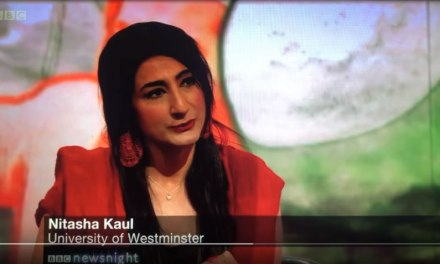 Professor Nitasha Kaul (University of Westminster) Speaks About Kashmir on BBC Newsnight and Euronews