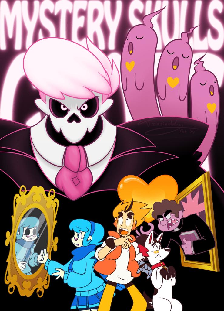 mystery skulls ghost