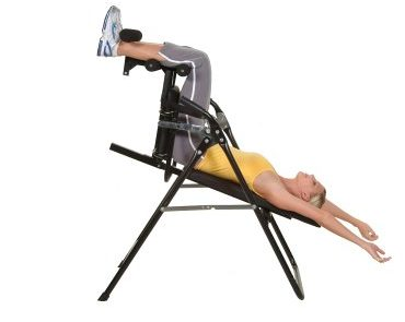 upside down chair for back pain plastic school chairs benefits of an inversion table   brokeasshome.com
