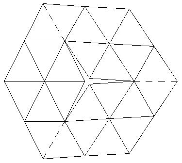 Yoshimoto Cube Template Sketch Coloring Page