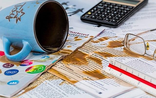 Errores financieros comunes que podemos cometer