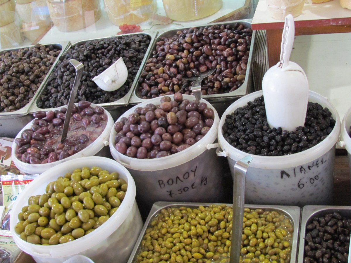 Chania Market - olives
