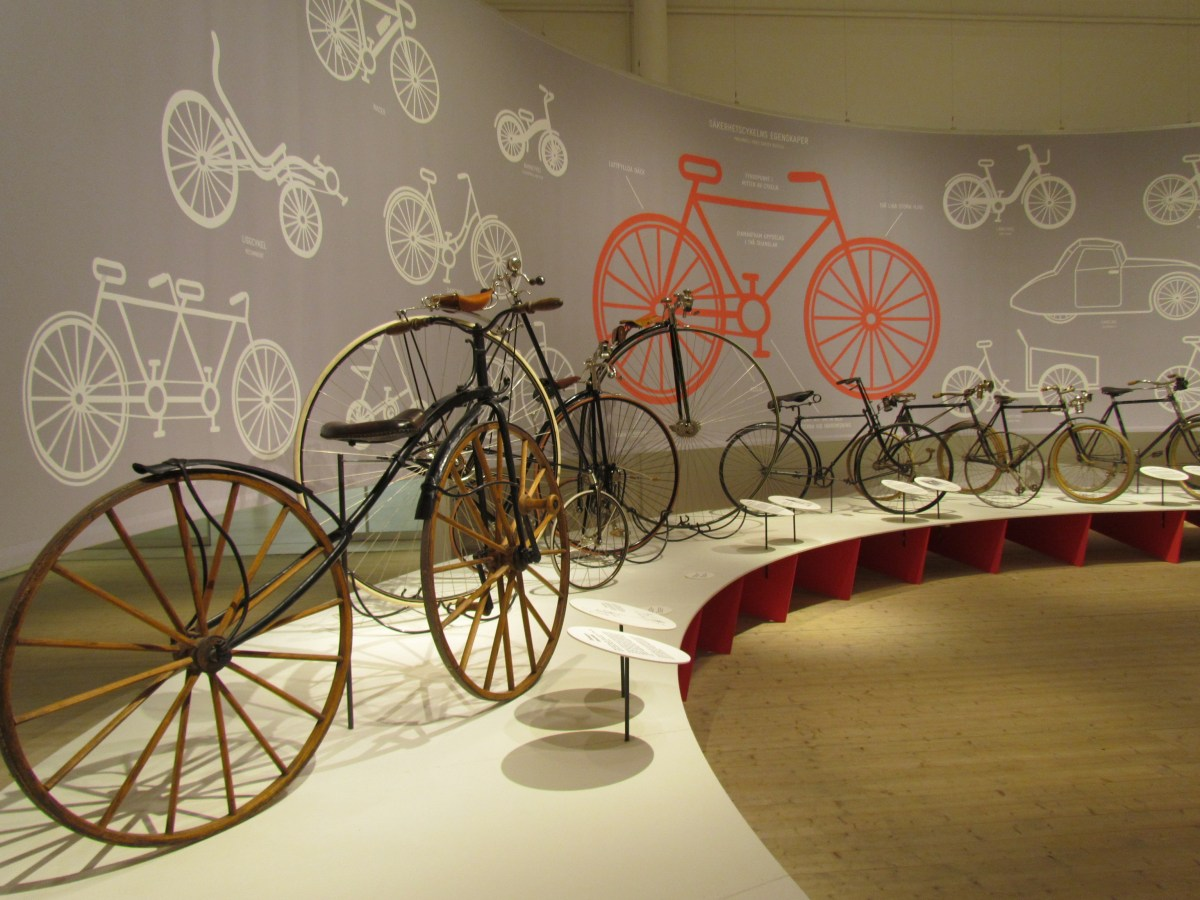 bikes in the architecture museum