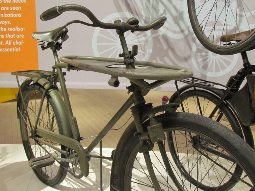 military dog bike