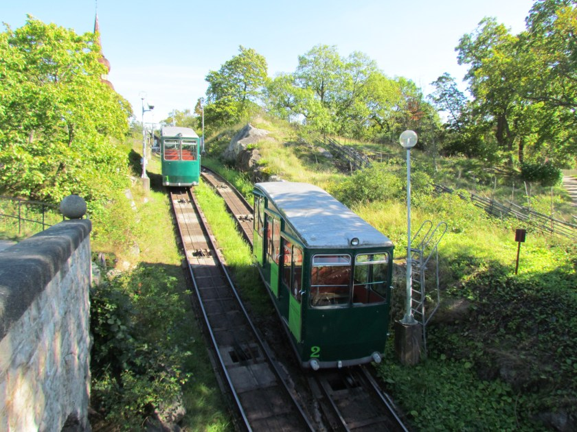 trains, Skansen