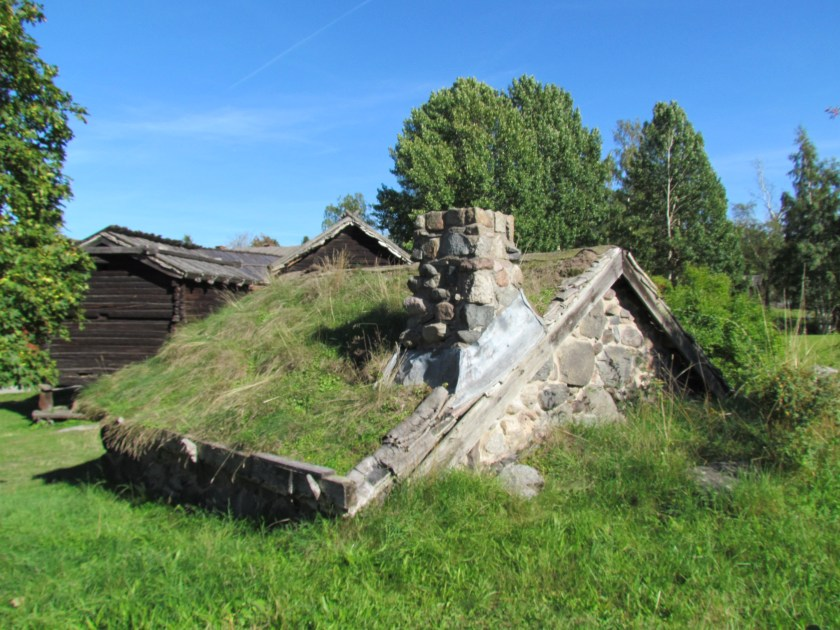 turf roofed house, Skansen