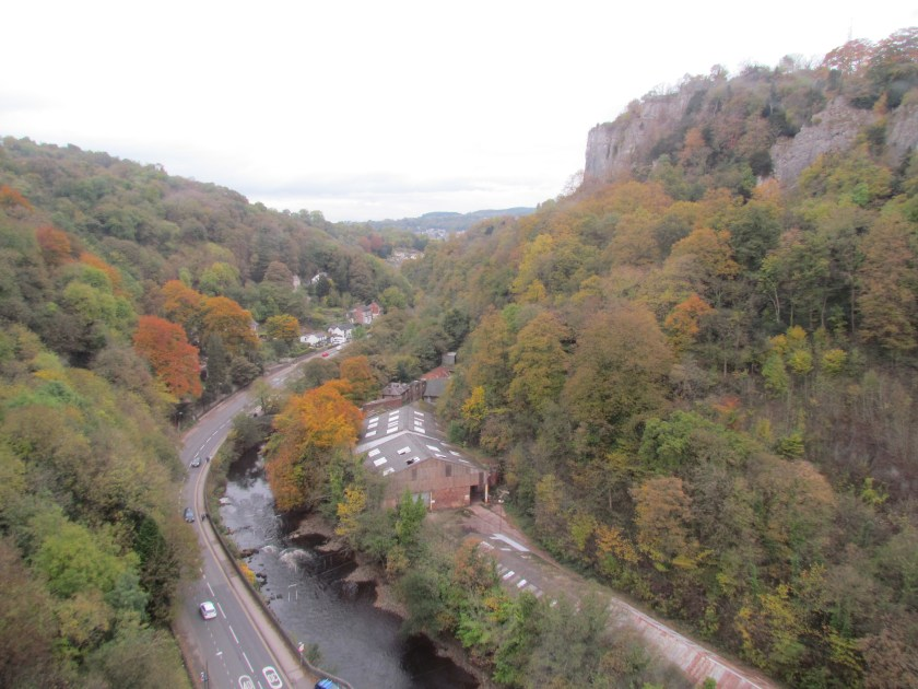 View of Matlock from cable car